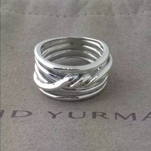 DAVID YURMAN Sterling Silver Cable Ring